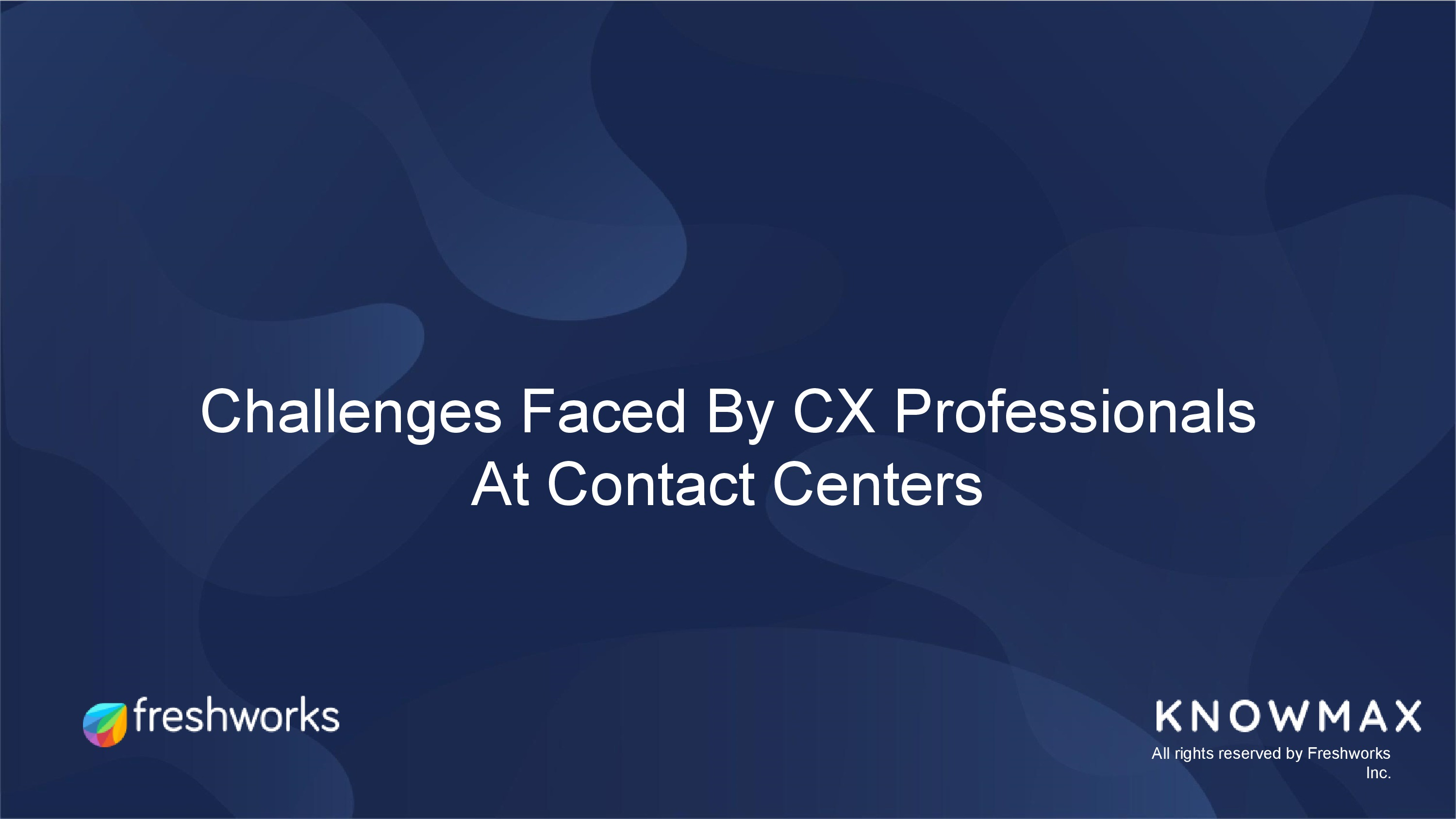 customer experience challenged faced by call center